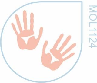 Molde Mãos