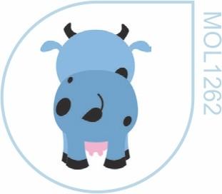 Molde Vaca Costas