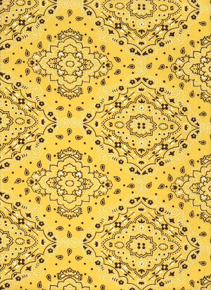 Tecido Fast Patch Termodinâmico 24x35cm - Cor: E518V  Bandana Amarela