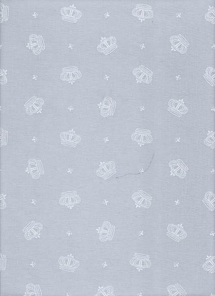 Tecido Fast Patch Termodinâmico 24x35cm - Cor: E556V Coroa de Arthur Cinza