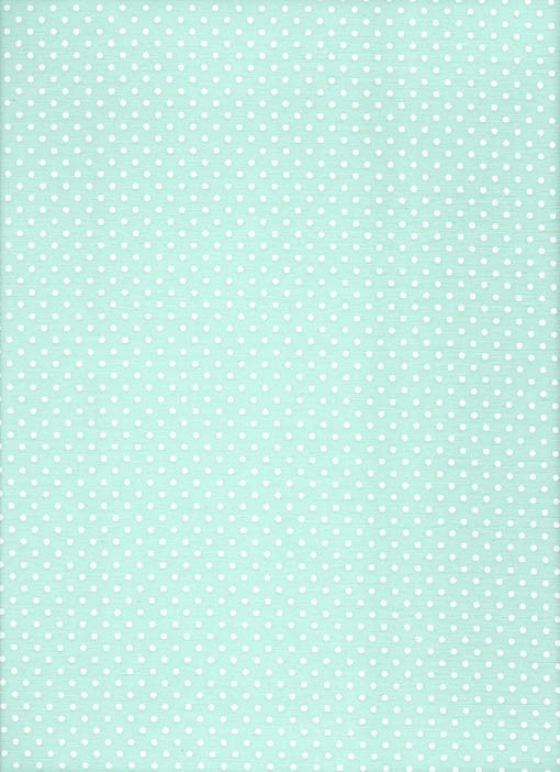 Tecido Fast Patch Termodinâmico 24x35cm - Cor: P331V Verde Aqua e Branco