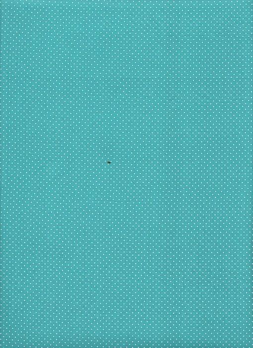 Tecido Fast Patch Termodinâmico 24x35cm - Cor: P346V Azul Tiffany e Branco