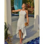 Vestido Calda Sereia Branco