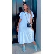 Vestido Comfy Midi Branco