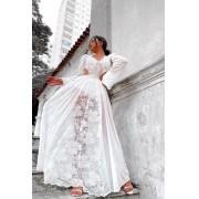 Vestido Especial Renda Hot Panties Branco