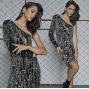 Vestido Pedraria Premium um Ombro
