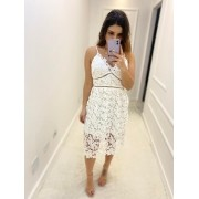 Vestido Renda Branco Alcinha