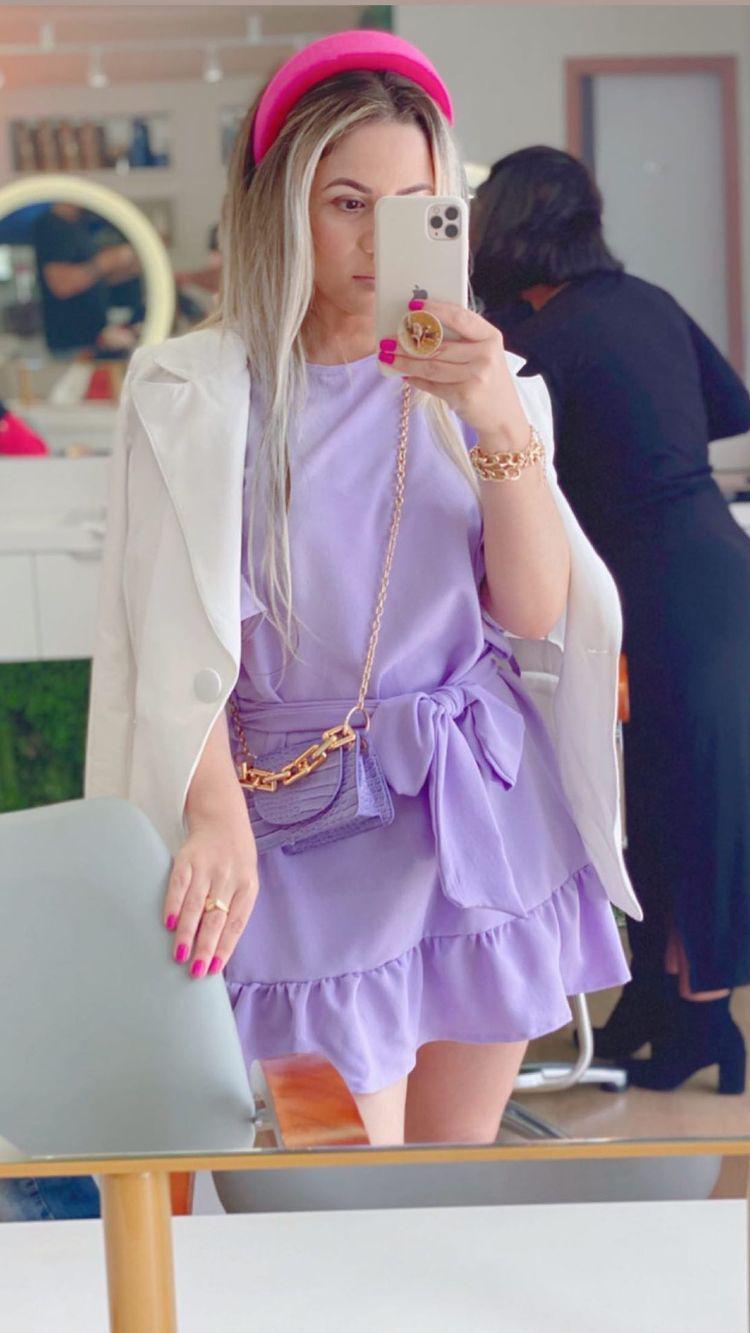 Vestido Bata Alfaiataria com Cinto