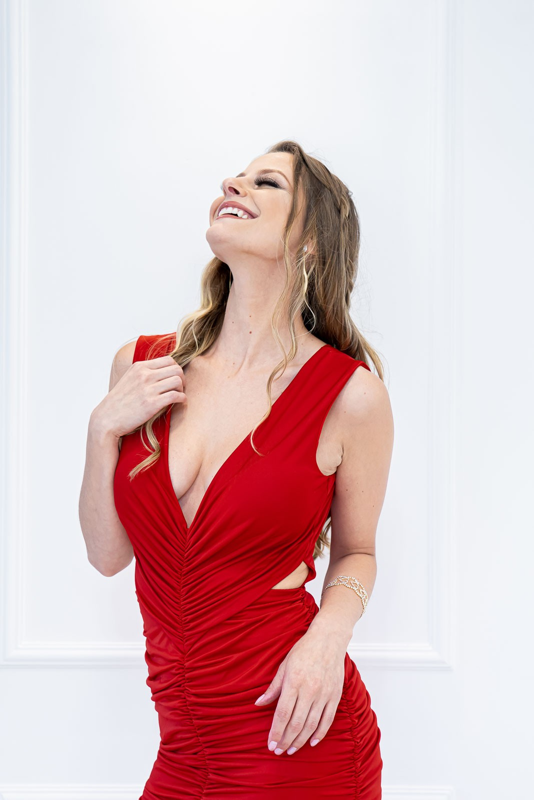 Vestido Longo Justine Vermelho