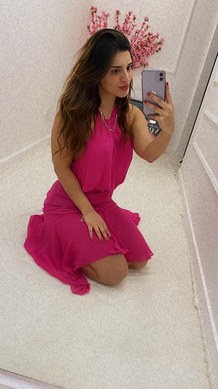 Vestido Mullet Twist Valentina Pink