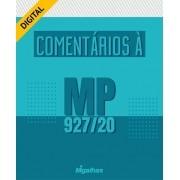 eBook Comentários à MP 927/20