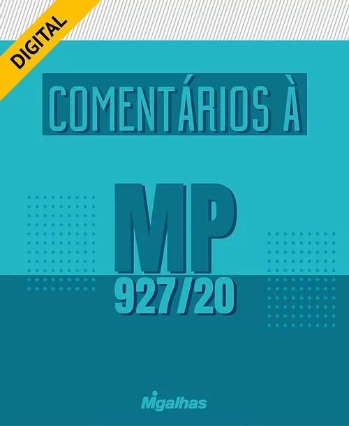 e-Book Comentários à MP 927/20
