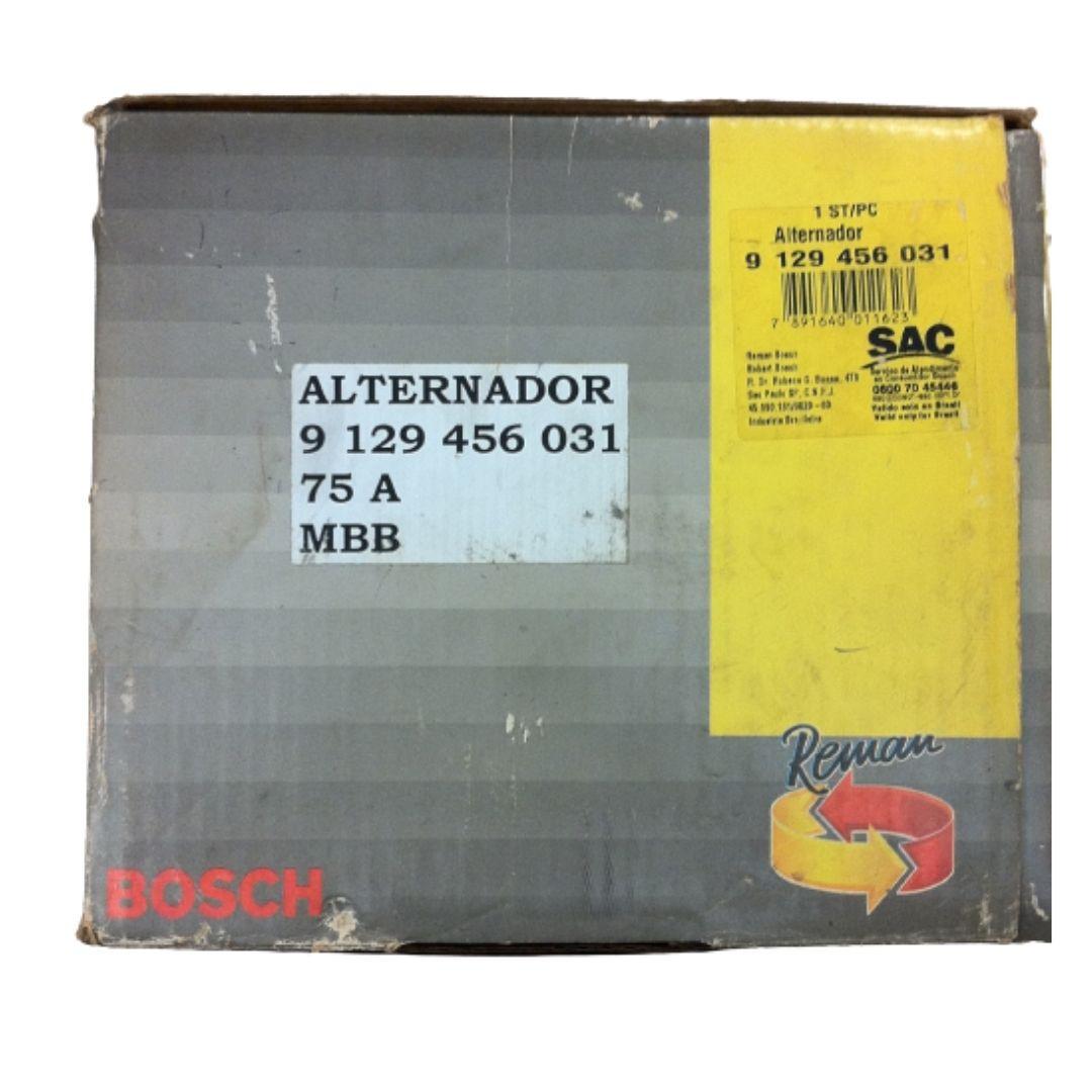 ALTERNADOR REM BOSCH MBB - ÔNIBUS - 1988 ATÉ 2010