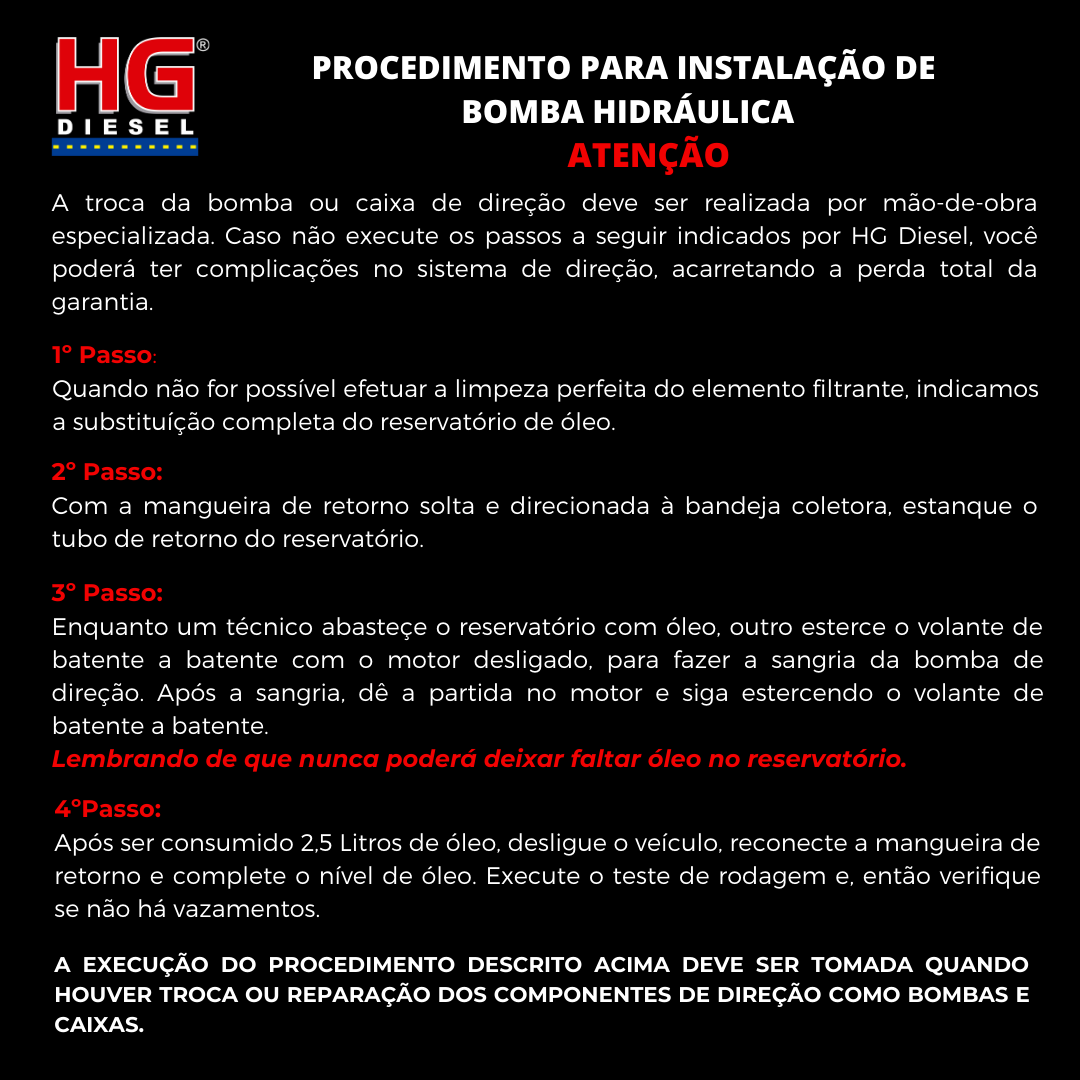 BOMBA DIREÇÃO HIDRÁULICA ZF GOL 1997 A 2008/SAVEIRO 1997 A 2008/PARATI 1997 A 2013 1.6/1.8/2.0 - G2/G3/G4 EXCETO G5