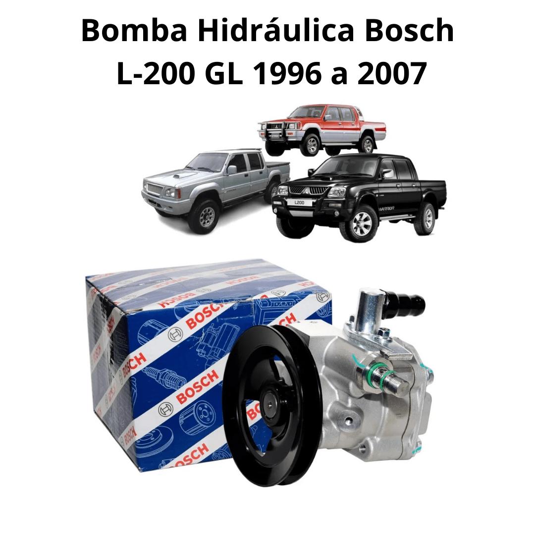 BOMBA DIREÇÃO HIDRÁULICA ZF NOVA ORIGINAL MITSUBISHI L-200 (1996 A 2007)