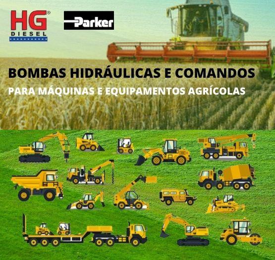 BOMBA HIDRÁULICA PRINCIPAL RETRO CARREGADEIRA CASE 580H