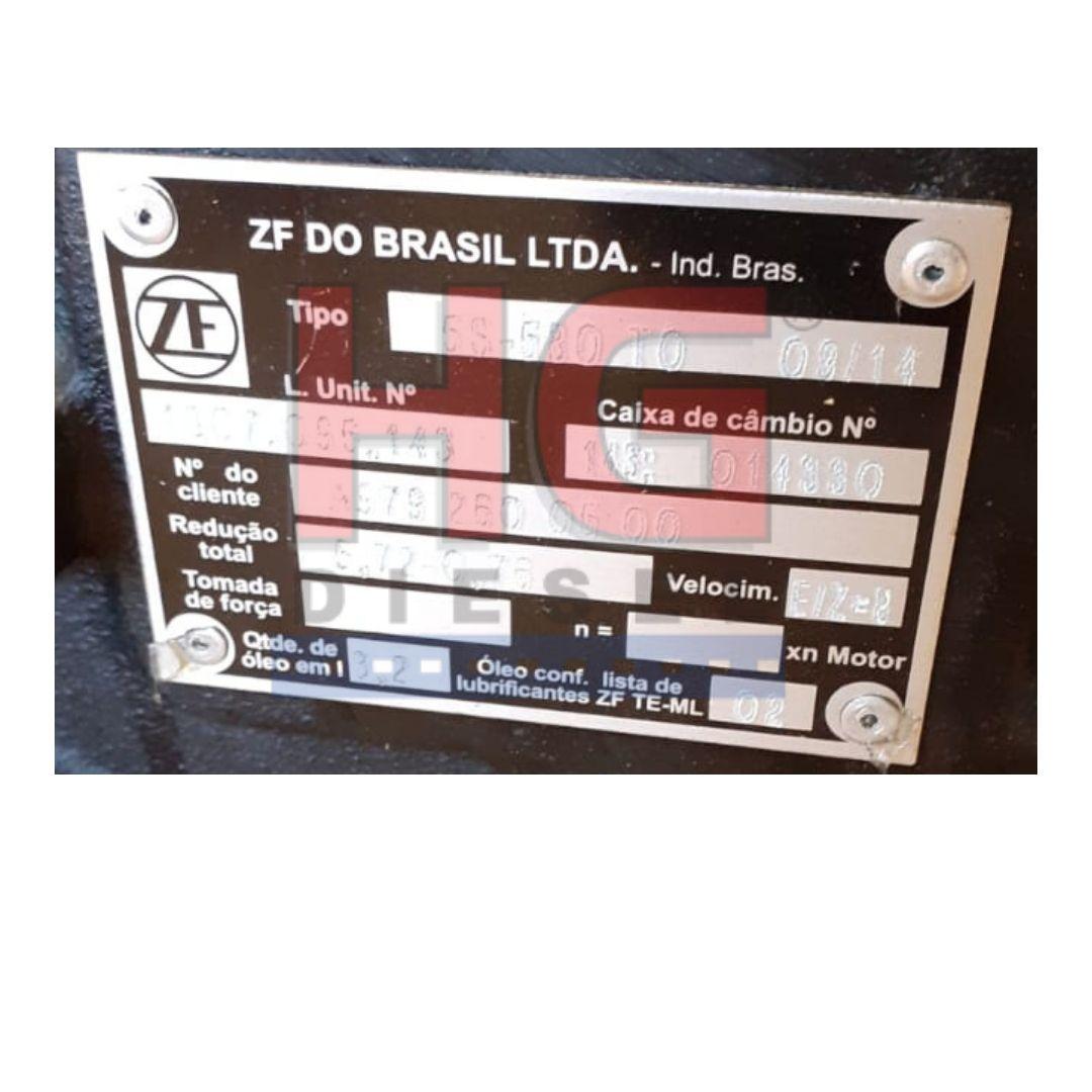 CAIXA DE CÂMBIO MBB ACELLO 815 5S580TO