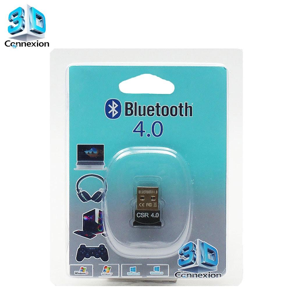 Adaptador Bluetooth 4.0 3DConnexion - Compatível com PC / Notebook / Laptop / Fones de ouvido / Celulares