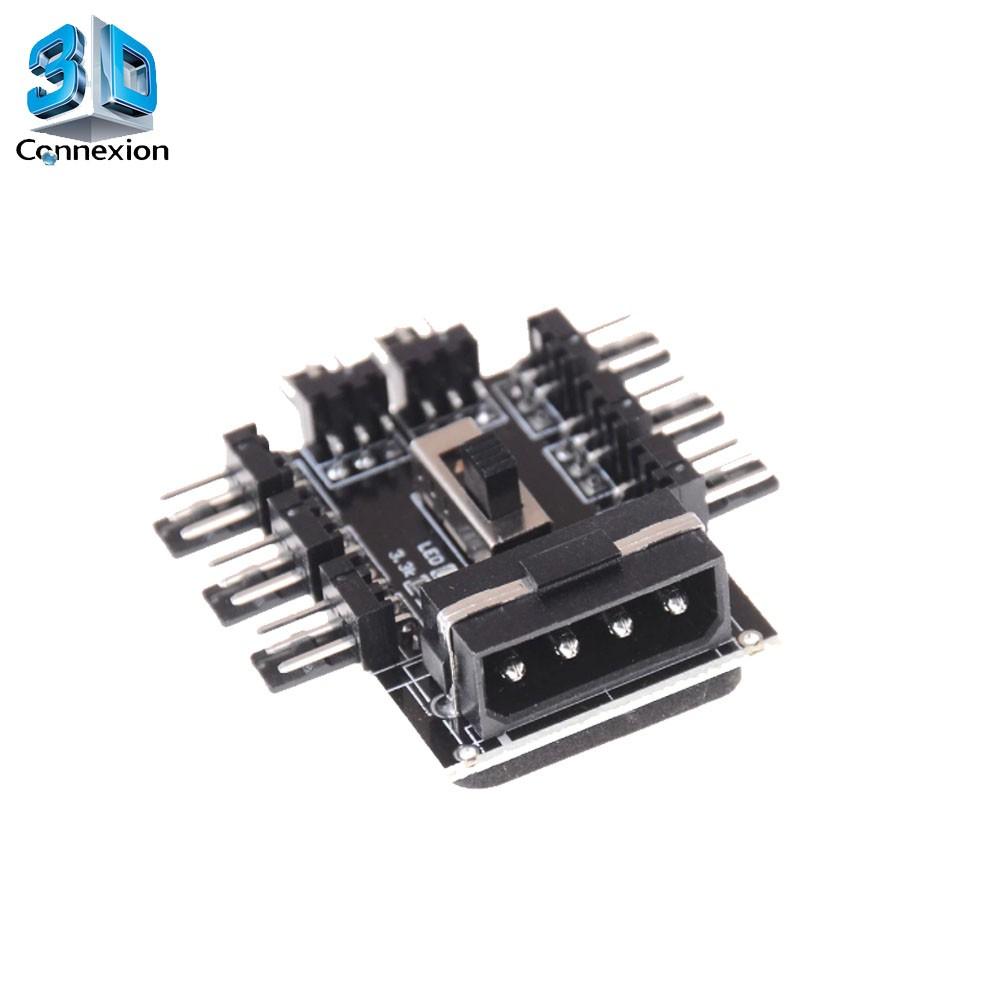 Adaptador de força Molex para 4 pinos 1x8 - 3DConnexion