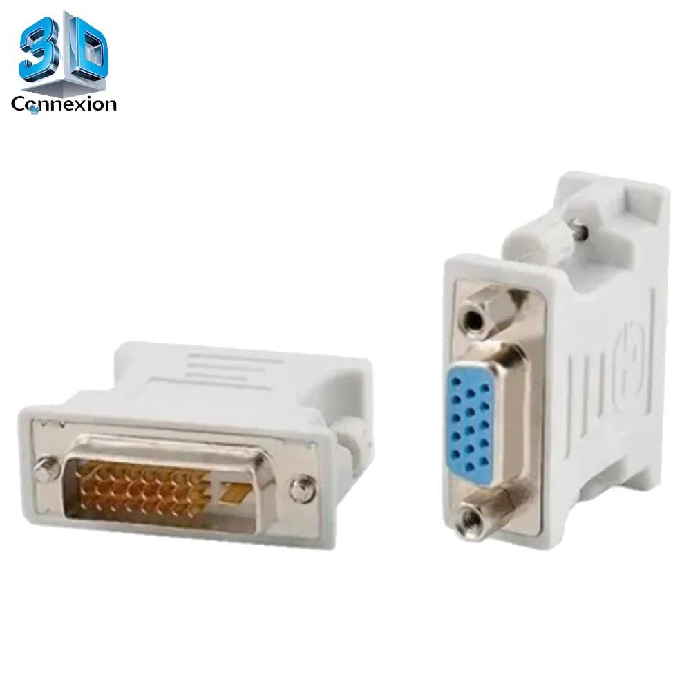 Adaptador DVI 24+1 x VGA (3DRJ1246)