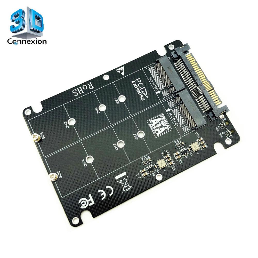 Adaptador para HD M2 NVME ou NGFF para SATA 3 ( 3DRJ1505 )
