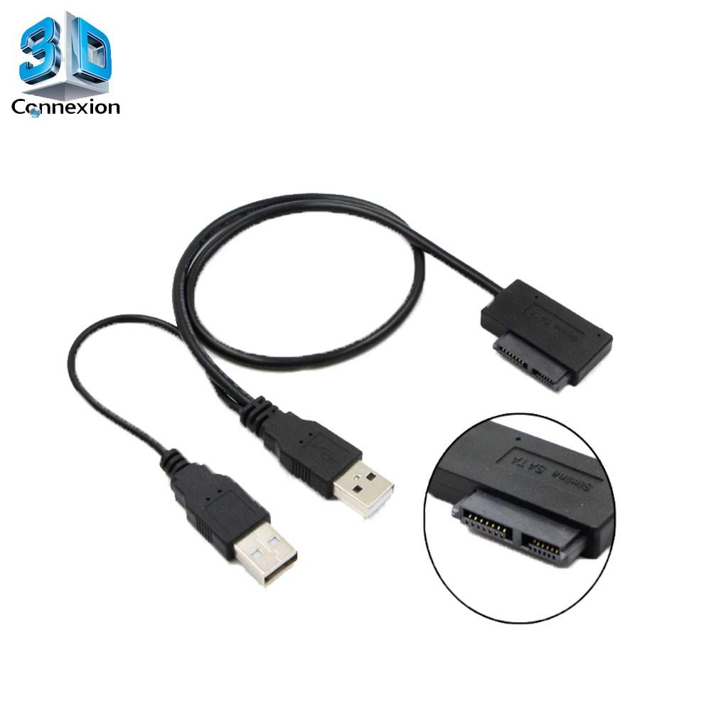 Adaptador Slimline ( Mini SATA ) x USB - 3DConnexion