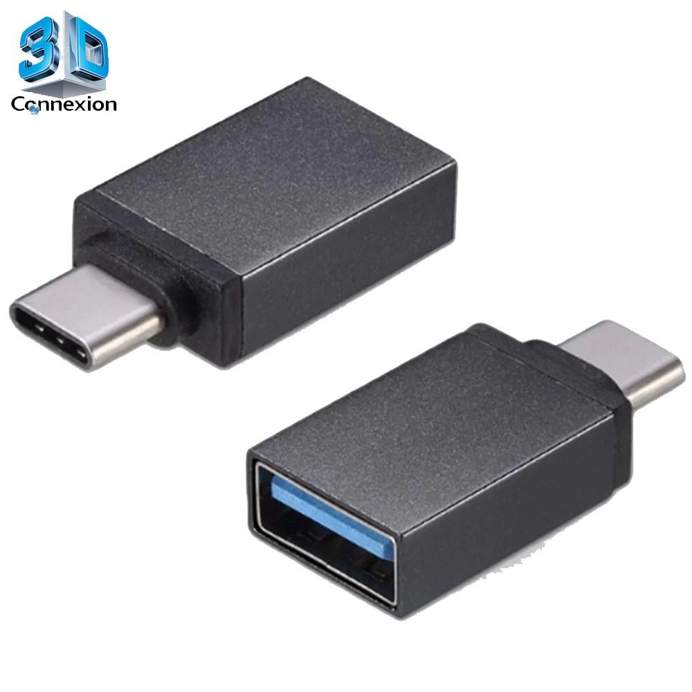 Adaptador USB 3.1 Tipo C para USB 3.0/2.0 (3DRJ1259)