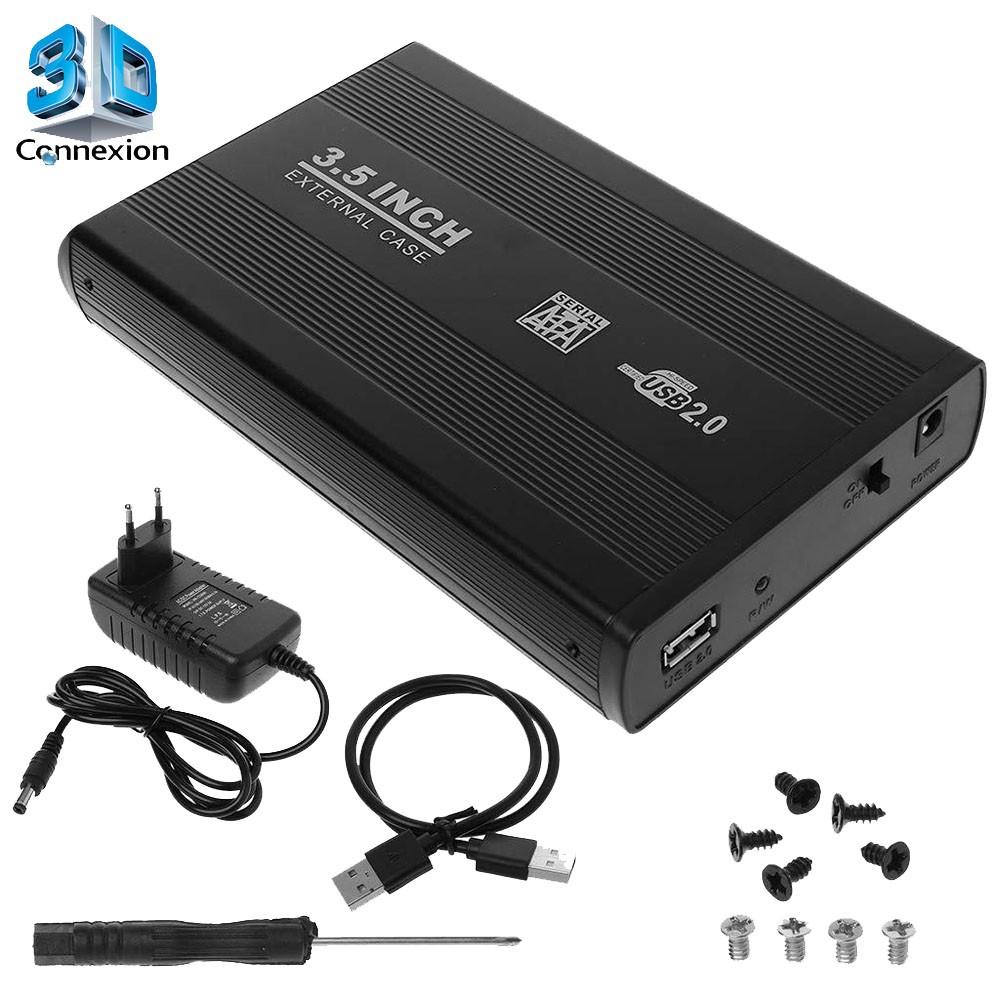 Case para HD 3.5 USB 2.0 - 3DConnexion
