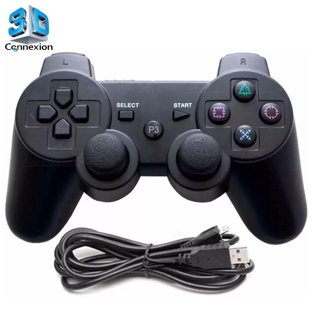 Controle para PS3 Com Fio (3DRJ1335)