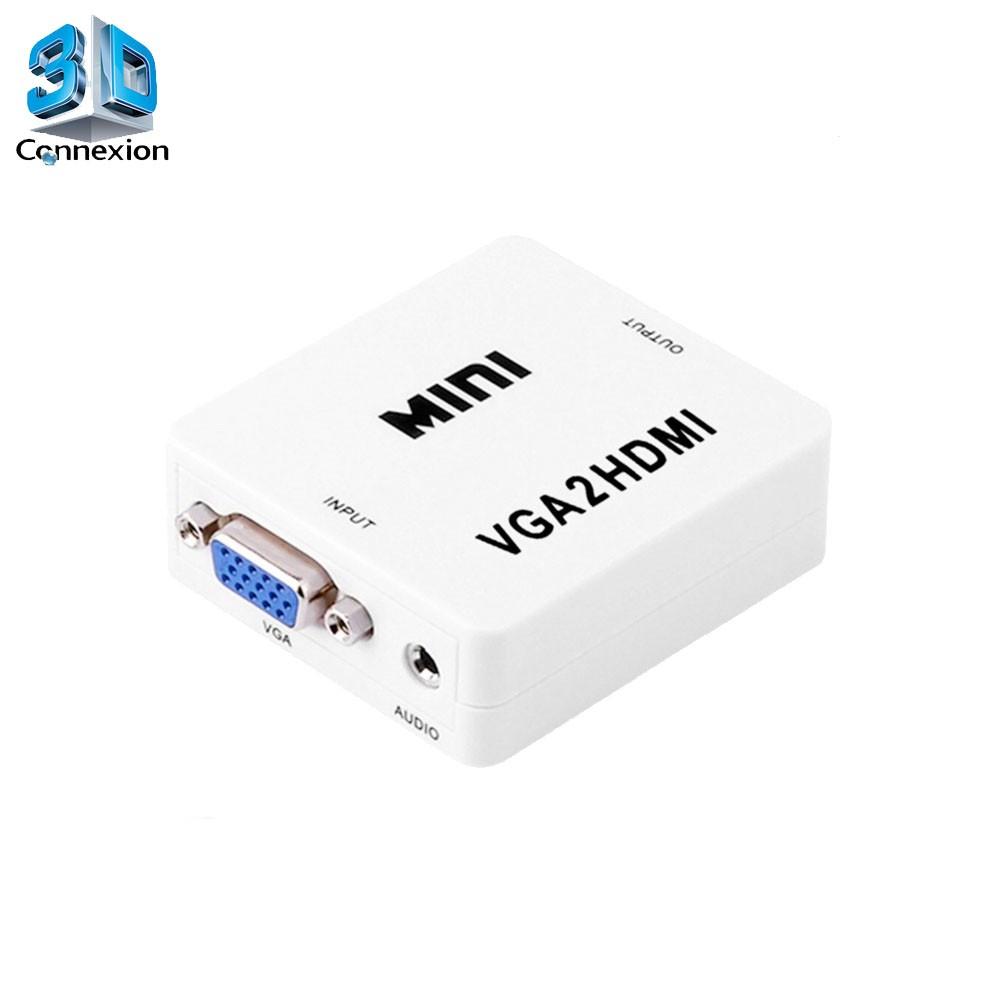 Conversor adaptador VGA para HDMI - 3DConnexion