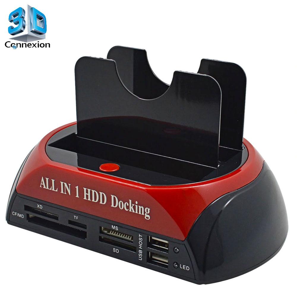 Dock para HD 3.0 Multi-Leitor de Cartão de Memória ( 3DRJ2517 )