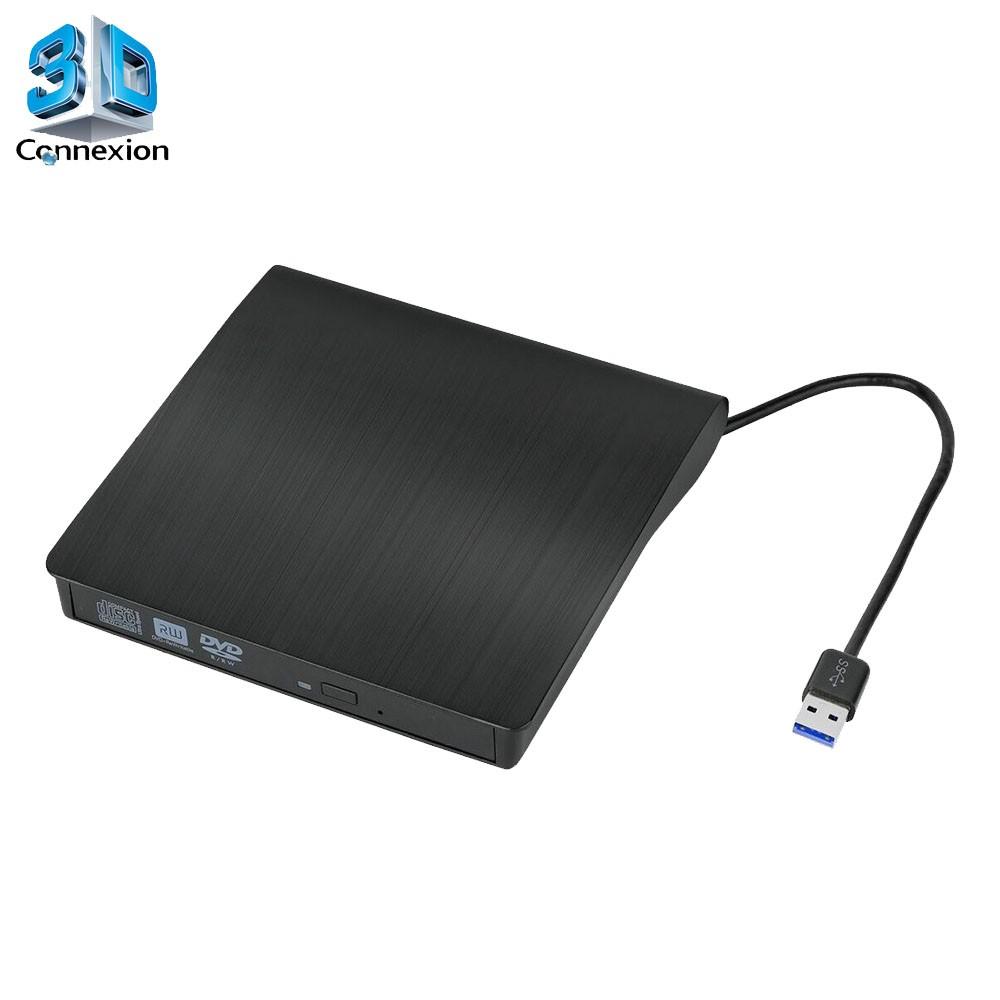 Gravador DVD Externo DVD-RW USB 3.0 - 3DConnexion