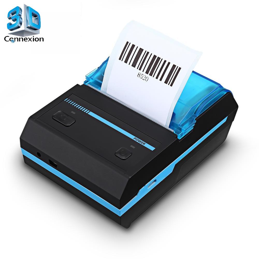 Impressora Termica 58mm Bluetooth ou USB (3DRJ1436)
