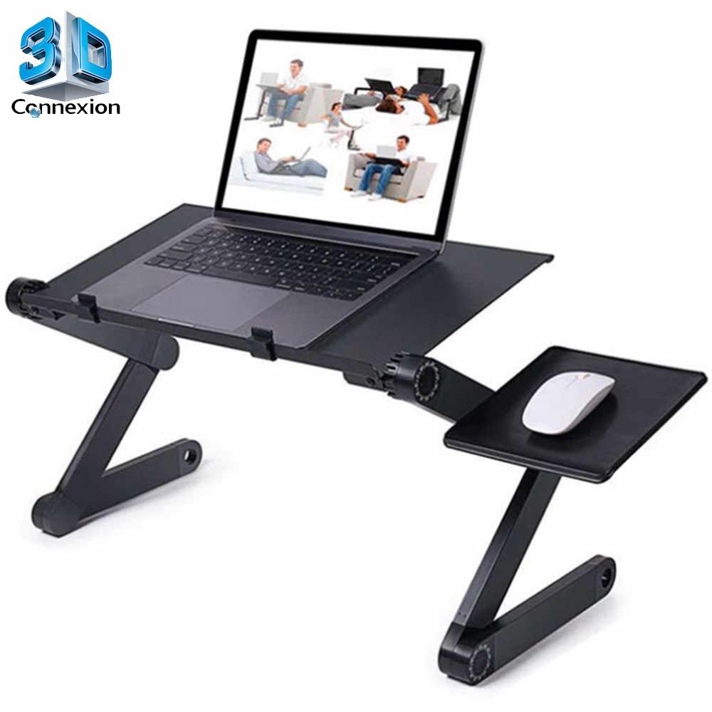 Mesa Ajustável para Notebook com base mousepad - T8 Articulada (3DRJ1471)
