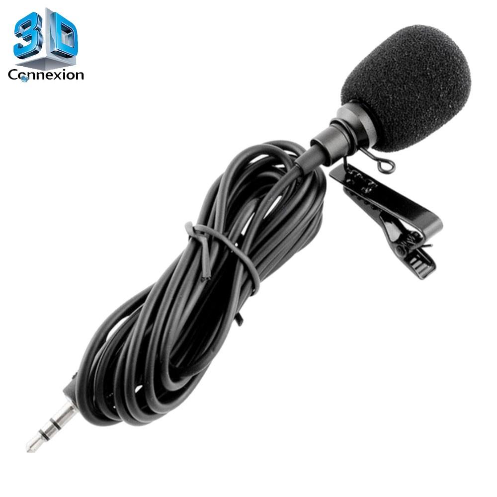 Microfone de Lapela P2 - 3DConnexion
