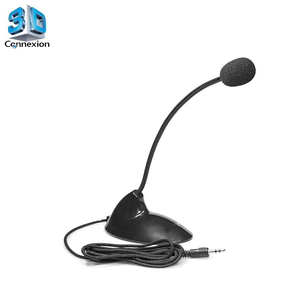 Microfone pedestal de mesa PC / Notebook (3DRJ1341)