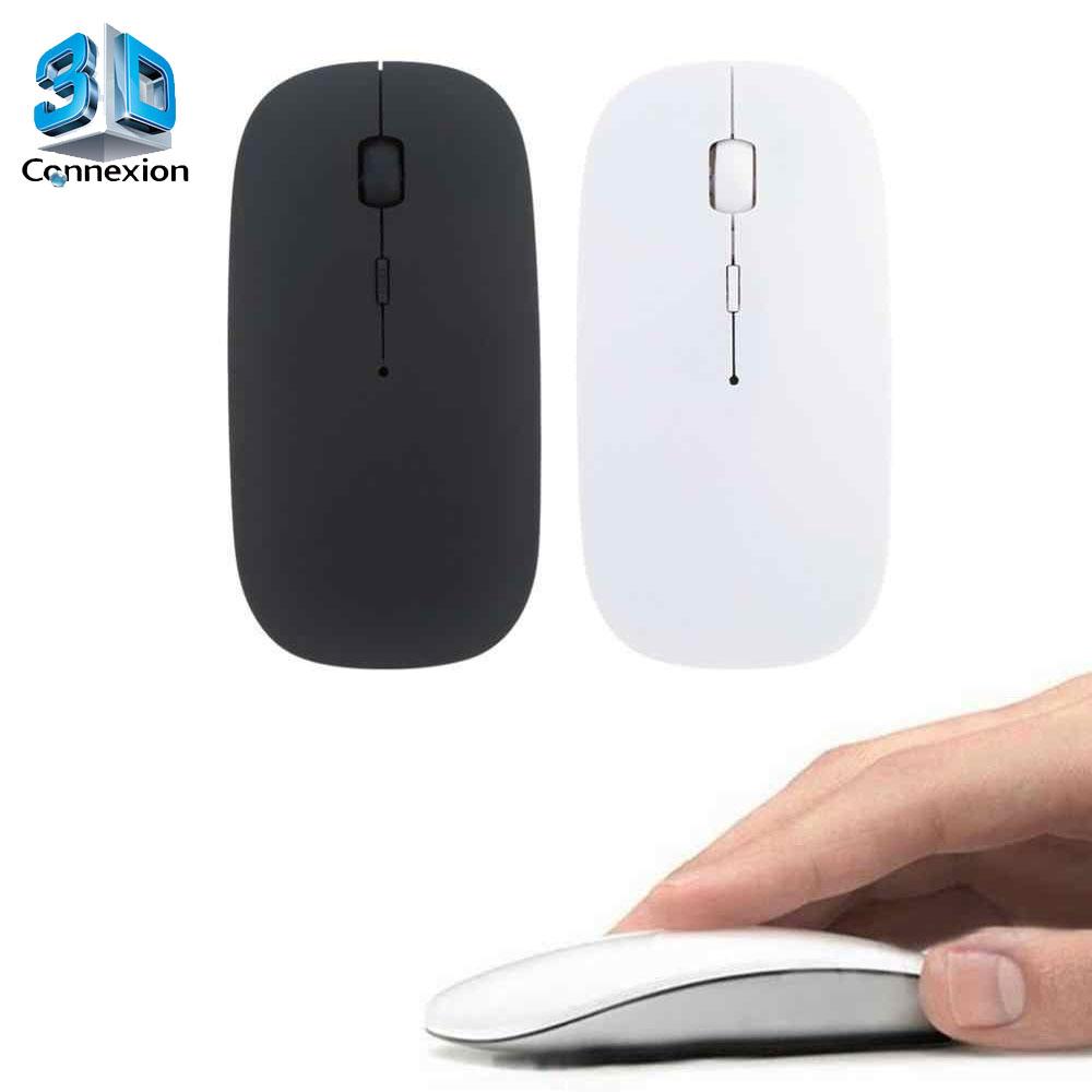 Mouse Sem fio Slim 2.4Ghz - Wireless até 10m alcançe (3DRJ1393)