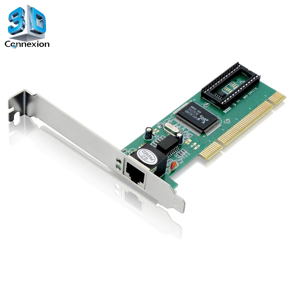 Placa de rede PCI 10/100 - 3DConnexion