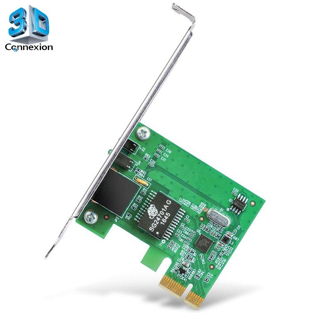 Placa de rede PCI Express 10/100/1000 - 3DConnexion