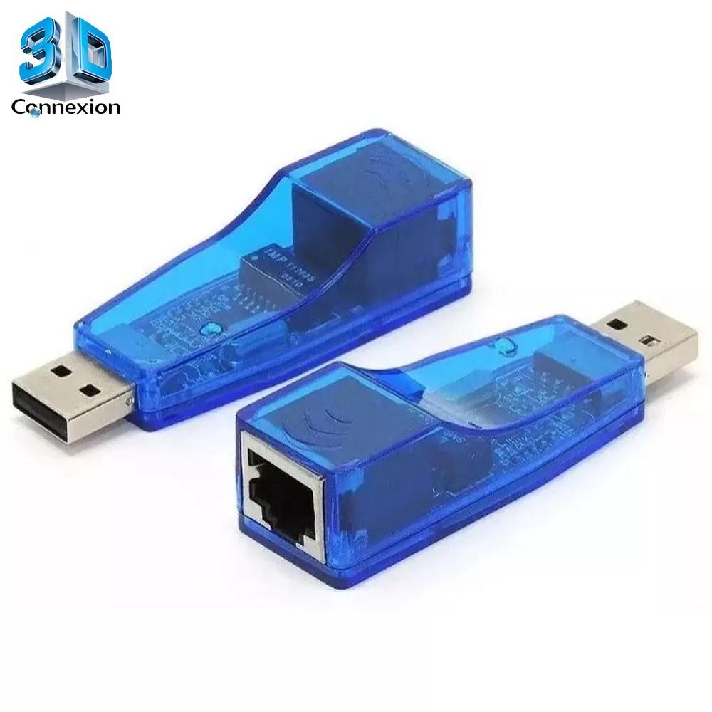 Placa de rede USB 2.0 10/100 (3DRJ1343)