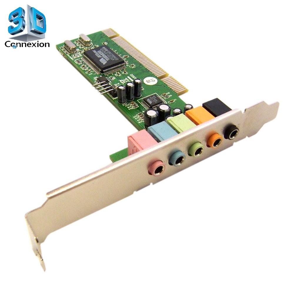 Placa de Som 5.1 PCI (3DRJ1363)