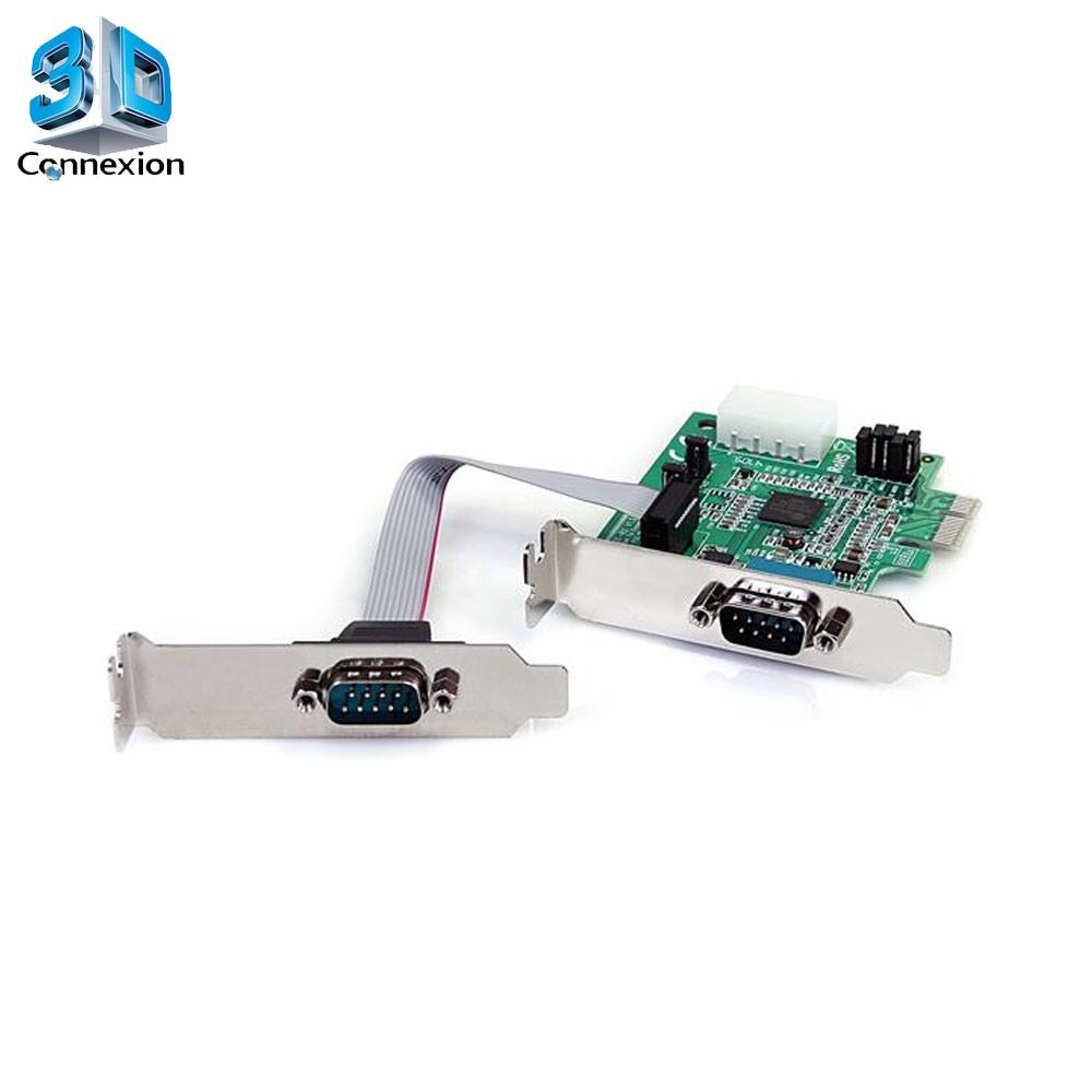 Placa PCI-E X1 Serial low profile (3DRJ1344)