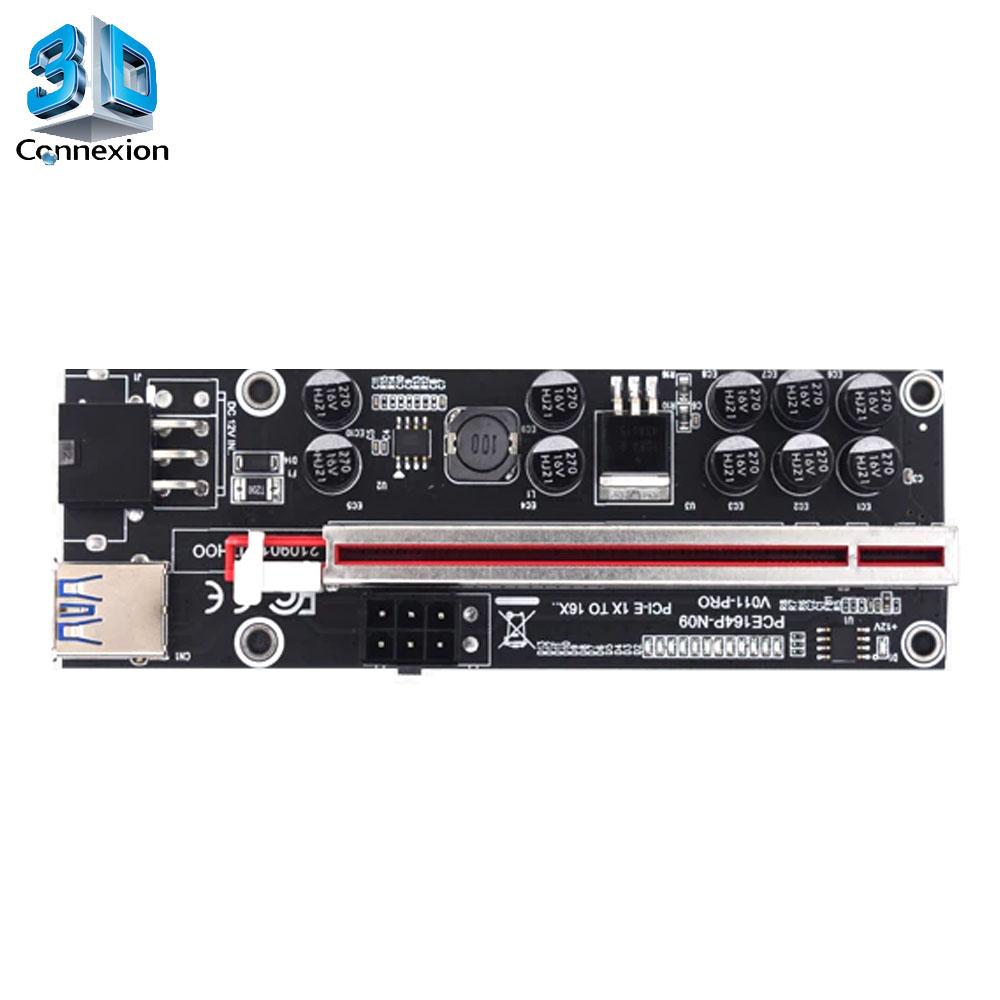 Placa RISER PCI Express X16 x PCI Express X1 Versão 011 PLUS ( 3DRJ2511 )