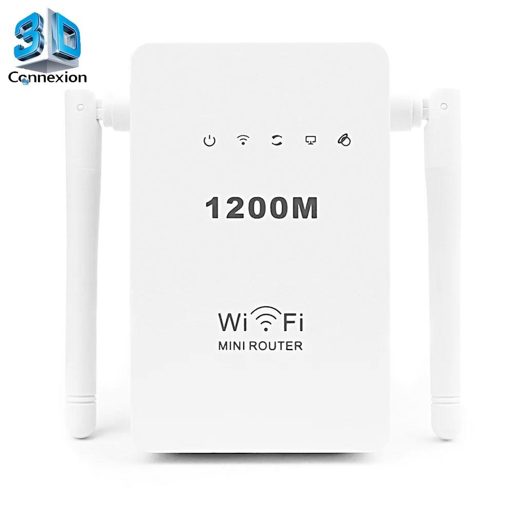 Repetidor Wi-Fi 1200Mbps com 2 Antenas (3DRJ1348)