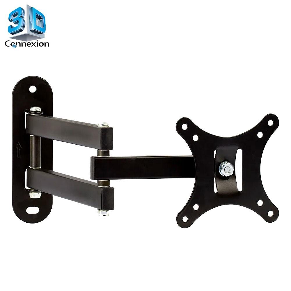 Suporte Articulado para TV 10 a 26 polegadas - 3DConnexion