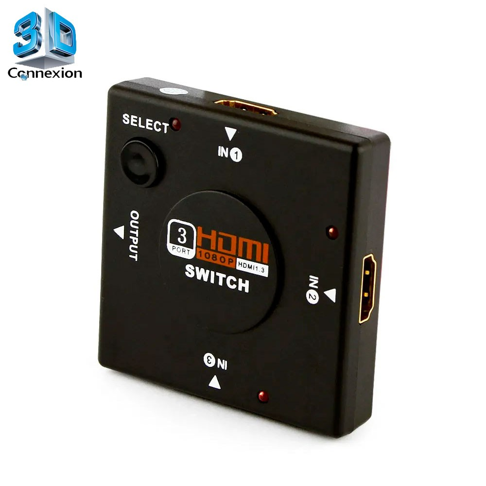 Switch HDMI 1x3 - 3DConnexion