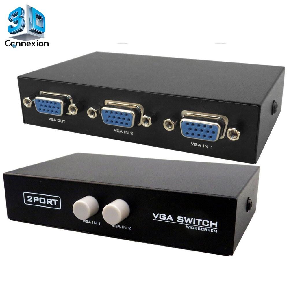 Switch VGA 2x1 Manual (3DRJ1360)