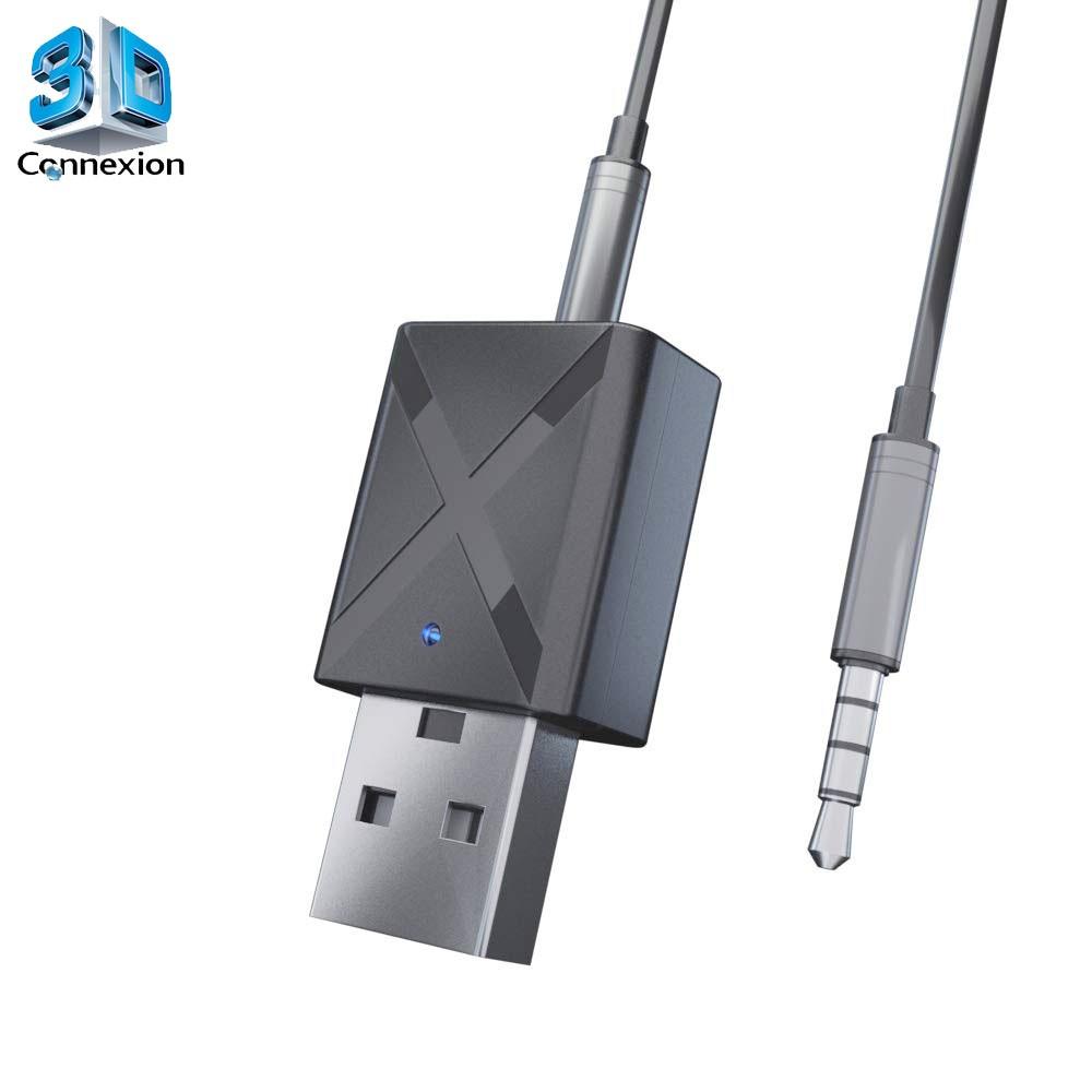 Transmissor de Áudio Bluetooth 5.0 para TV - 3DConnexion
