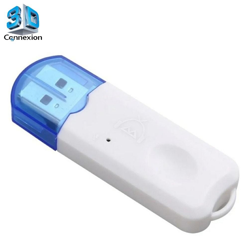 Transmissor e Receptor Bluetooth USB para Carro (3DRJ1391)