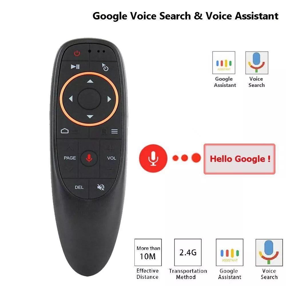 Air Mouse com Função COMANDO DE VOZ Para Tv Box Android